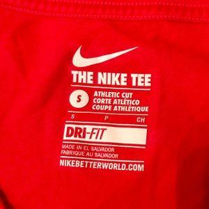 Nike Tops - The Nike Tee in Red